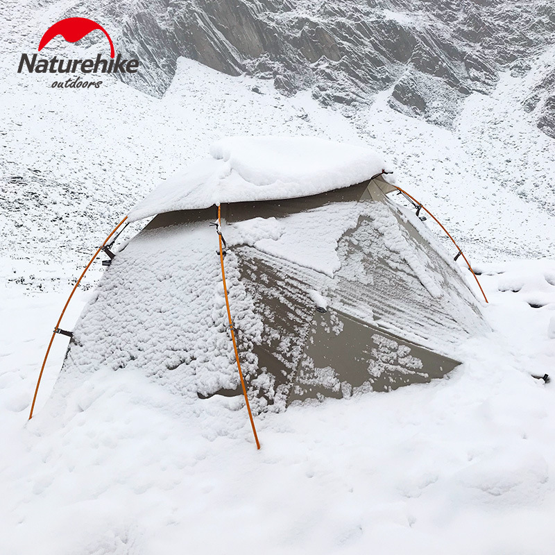 Naturehike Tent Camping Nebula Blizzard Ultra-Light Wild Double for Wind-Rain-Cold And