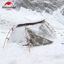 Naturehike версия Nebula 2 палатка ультра-светильник двойная палатка для кемпинга для ветра, дождя, холода и метели дикая палатка для кемпинга