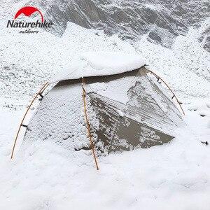 Image 1 - Naturehike 2019 sürümü bulutsusu 2 çadır Ultra hafif çift yerleşik çadır kamp rüzgar yağmur soğuk ve Blizzard vahşi kamp çadırı