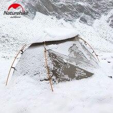 Naturehike 2019 versão nebulosa 2 tenda ultra leve dupla residente tenda de acampamento para vento chuva fria e blizzard selvagem barraca de acampamento