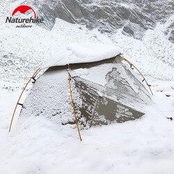 Naturehike 2019 versión nebulosa 2 tienda de campaña Ultra ligera doble tienda de campaña para viento lluvia fría y ventisca tienda de campaña salvaje
