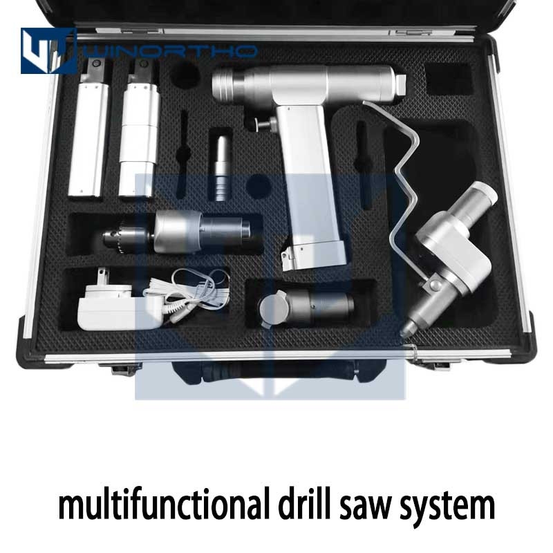 TPLO Multifunctional Bone Drill Saw System Cannulated Acetabulum Reamer Saggital Saw Connectors Orthopedic