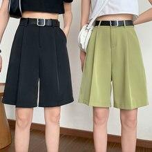 Шорты shintimes женские с широкими штанинами модные повседневные