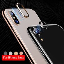 For iPhone XR X XS MAX 8 7 Plus Camera Lens Protector Ring Circle Protective Screen Protector Film For 7 Lens Phone Accessories(China)