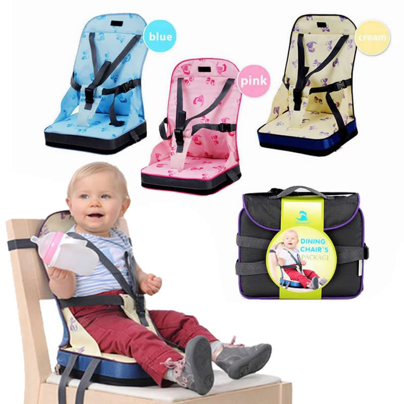 Portable Baby Chair Bag Foldable Infant Travel Booster Seat Momy Bag Kids Feeding Safety Seat Newborns Nursing Dining High Chair(China)