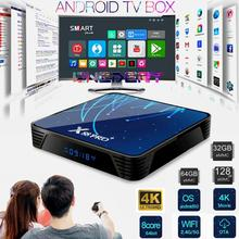 цена на 4K Android 9.0 TV Box, Octa-Core RK3368 CPU 5G WiFi 4K 3D Smart TV Box Streaming Network Media Player Set-top Box Android TV BOX