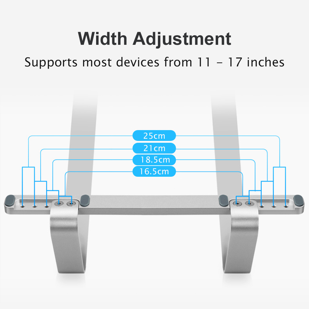 cheapest Aluminum Alloy Adjustable Laptop Stand Folding Portable for Notebook MacBook Computer Bracket Lifting Cooling Holder Non-slip