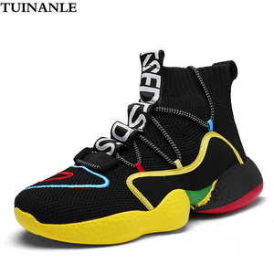 TUINANLE Sneakers Women 2020 High Heel Casual Flats Men Running Vulcanized Shoes Fashion Black Spring Sneakers Zapatos Mujer