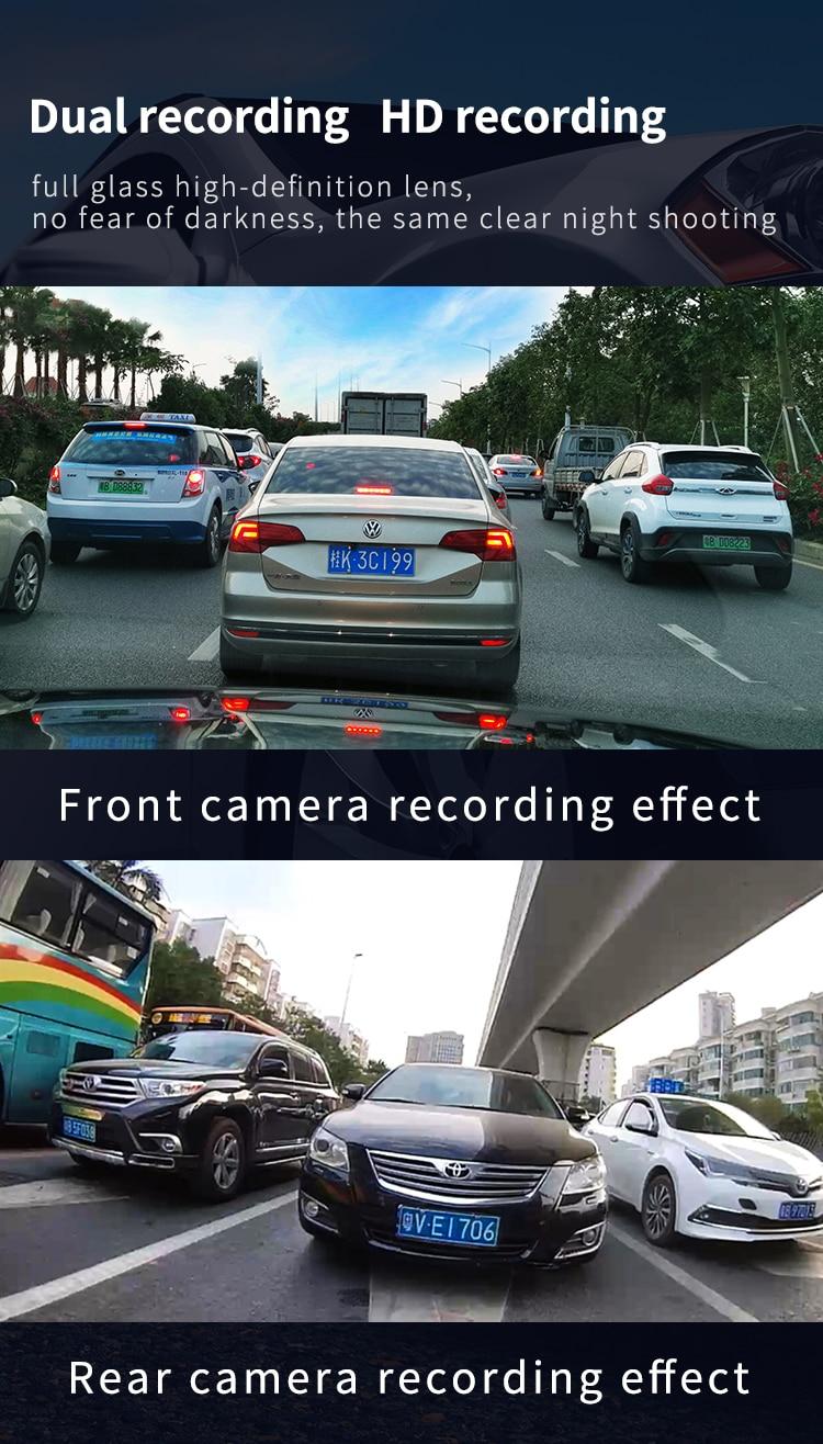 H0a25a961399f44d98ada97c3307076b5U - 12インチ バックミラー カー DVR カメラ GPS FHD デュアル1080Pレンズ 駐車24時間モーション検知