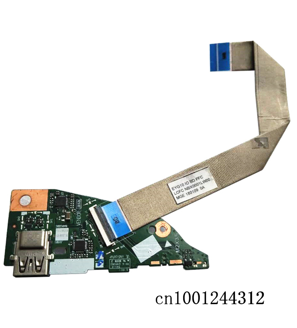 New Original For Lenovo YOGA 530-14IKB EYG10 Flex 6-14 Power Switch Panel USB board SD Card Slot Cable NS-B601 image