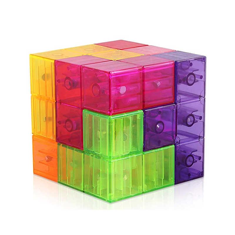 Математические кубики 2020, новая коллекция игрушек «сделай сам», тетрис, магнитный подросток для детей, волшебная игра нео-бесконечность, кубик-головоломка, игрушки с голосом