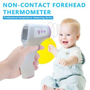 Infrared Digital-Thermometer Forehead Baby Non-Contact Adult with Lcd-Backlight N30