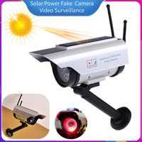 Solar Power Gefälschte Dummy Simulation Kamera mit Blinkende LED Licht Startseite Outdoor Sicherheits kamera CCTV Video Überwachung Liefert