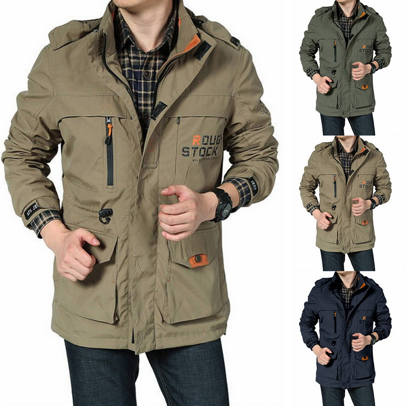 Autumn Hiking Jacket Hunting Ghillie Suits Military Softshell Men Army Male Windbreakers Camping Fishing Tactical Jacket