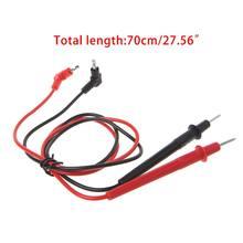 Sonde universelle Test conduit broche pour multimètre numérique aiguille pointe Multi mètre testeur plomb sonde fil stylo câble 10A