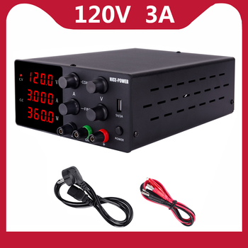 120V 3A Adjustable Power Supply Laboratory Digital Power Supply 30V 10A 60V 5A Bench Source Digital With USB Repair Products