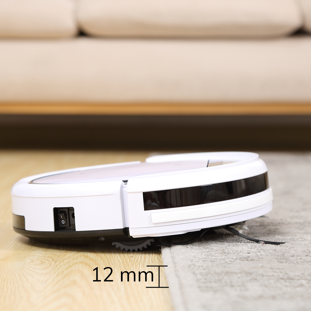 ILIFE V3s Pro Robot Vacuum Cleaner Home Household Professional Sweeping Machine for Pet hair Anti Collision Automatic Recharge 4