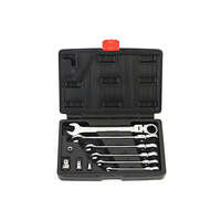 10Pcs Multi Function Wrench Tool Set Dual Use Ratchet Wrench Set Mechanical Fast Repair Spanners|Wrench| |  -