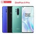 Original OnePlus 8 Pro Mobile Phone 6.78 inch RAM 8G ROM 128G Snapdragon 865 2K 120Hz Screen 48MP Camera NFC IP68 5G Smartphone