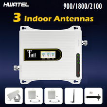 Amplificateur cellulaire de signal de téléphone portable amplificateur cellulaire 4g gsm lte signal répéteur de téléphone portable 4g 1800 kit complet communication réseau Mobile