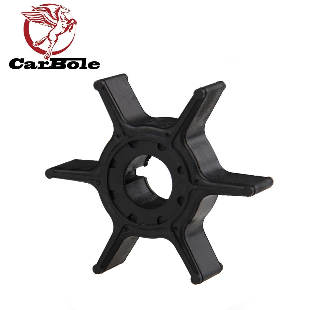 CARBOLE Outboard Motors 63V-44352-01-00 63V-44352-01 Impeller For Yamaha 8HP 9.9HP 15HP 20HP U-3040 12.97mm 52.88mm 13.49mm 14g