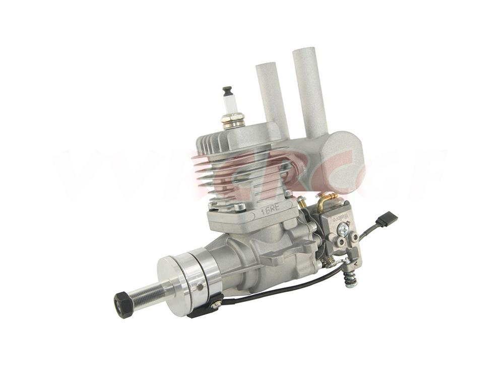 New Arrival! RCGF 16CC 16CCRE Petrol/Gasoline Engine With Rear Exhaust Pipe/Muffeller For RC Airplane