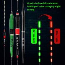 Alarm Fishing-Tackle-Tool Smart-Floats Balsa Wood Led-Night-Light Electronics Luminous
