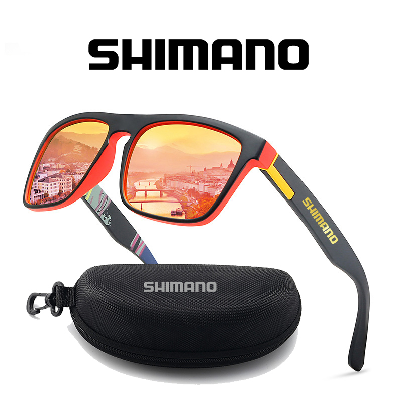 2021 Shimano Man Fishing Glasses Outdoor Mountaineering Anti-ultraviolet Classic Polarized Sunglasses Riding Driving Sunglasses