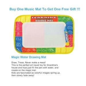 Image 2 - 3 סוגים תכליתי מוזיקליים מחצלת מקלדת פסנתר תינוק לשחק מחצלת חינוכיים לילדים לילדים מתנה