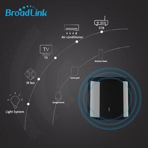 Image 5 - Broadlink RM4C Mini commutateur WIFI de mouvement de haricot noir télécommande intelligente IR domotique intelligente fonctionne avec Google Home