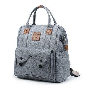 Image 4 - Mommy Bag Дорожная портативная многофункциональная Детская сумка водонепроницаемый рюкзак большой емкости Mommy