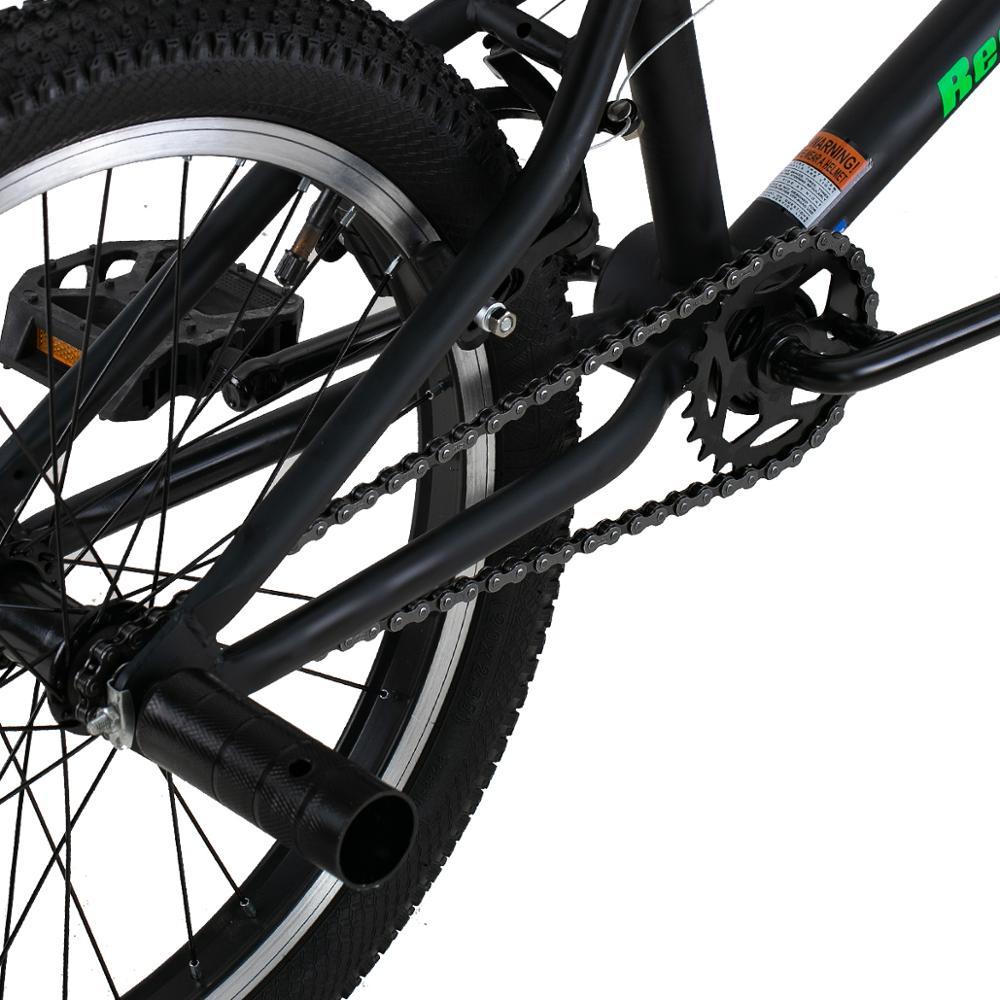 HILAND 10 Color&Series 20'' BMX Bike Freestyle Steel Bicycle Bike Double Caliper Brake Show Bike Stunt Acrobatic Bike 5