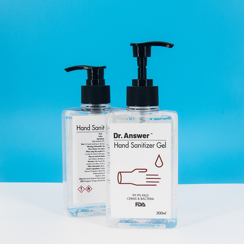 Hand Sanitizer Wash-free Anti-bacterial Hand Sanitizer Alcohol Gel Hand Sanitizer 300ML