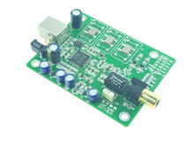 Novo xmos xu208 usb para coaxial dac interface digital/suporte i2s dsd dop/alta fidelidade de áudio/opção de atualização para 0.1ppm tcxo