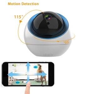 Image 3 - โดมกล้อง IP ไร้สายในร่ม 1MP 3MP Home PTZ การเฝ้าระวังกล้อง CAM WIFI กล้องวงจรปิด Camara สำหรับ WIFI ภายนอก
