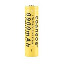 Hot !original 3.7V 9900mah 18650 Battery lithium batteria rechargeable lithium battery for flashlight Torch Accumulator Cells ding li shi jia 4pcs 18650 battery 9900mah 3 7v rechargeable battery li ion lithium for flashlight torch headlight head batte