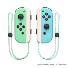 1 Pair Animal Crossing Nintend Switch Joy Con Wrist Strap Band Hand Rope Lanyard for Nintend Switch Game Joy-Con Controller(China)