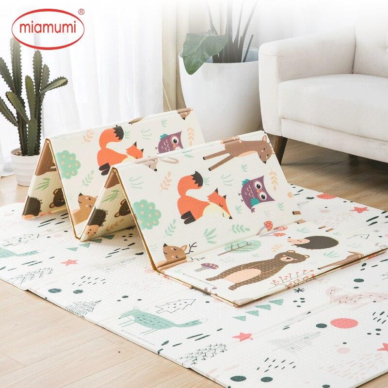 Miamumi mousse bébé ramper tapis enfant tapis bébé tapis bébé jouer tapis couverture tapis tapis enfants tapis éducatif tapis de jeu de sol renard animaux décoration bébé activité tapis développement tapis bébé tapis bébé tapis de jeu