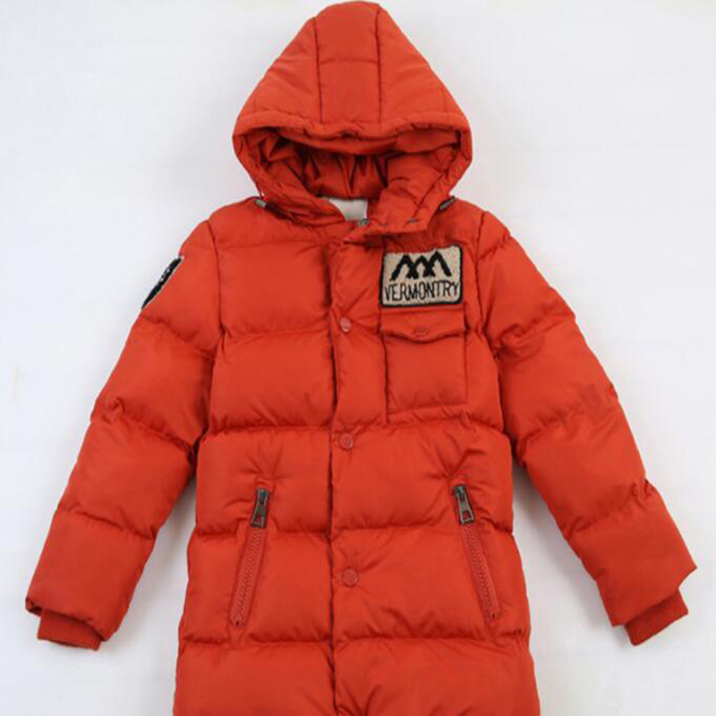 New Winter Clothing Boys 4 Keep Warm 6 Children 8 Autumn Hooded 10 Coat 12 Middle Aged 14 Year 15 Pile Thicker Cotton Jackets 3
