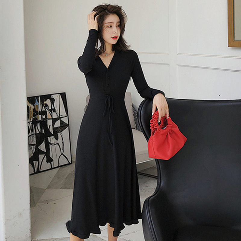 BF Long Skirts 00 After Sukol Hipster GIRL'S Minimalist Doctrine CHIC Laziness-Style Pp Home Dress Zi Xia
