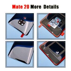 Image 4 - Ban Đầu Cho Huawei Mate 20 Pin Mate20 Pro Lưng Dán Kính Cường Lực Cho Huawei Mate20 Phía Sau Cửa Nhà Ở Lưng ống Kính Máy Ảnh