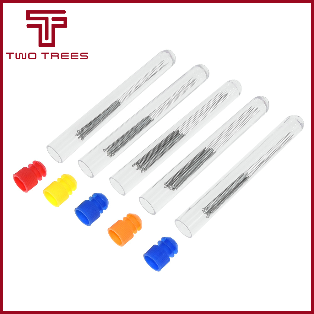 10pcs//box 0.4mm Nozzle  Head Cleaner Cleaning Extruder Tip Drill Bits 3D Printer
