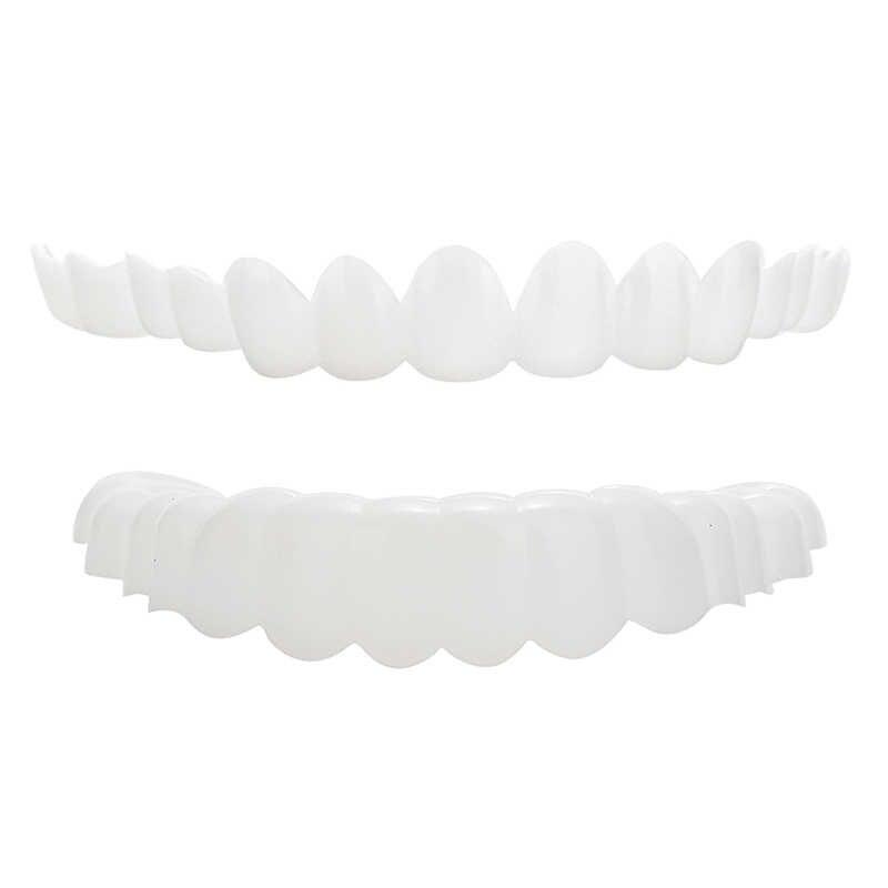 غطاء أسنان تجميلي للأسنان يتميز بأنه أنيق وأنيق وأنيق ومريح لتبييض الأسنان غطاء أسنان مرن