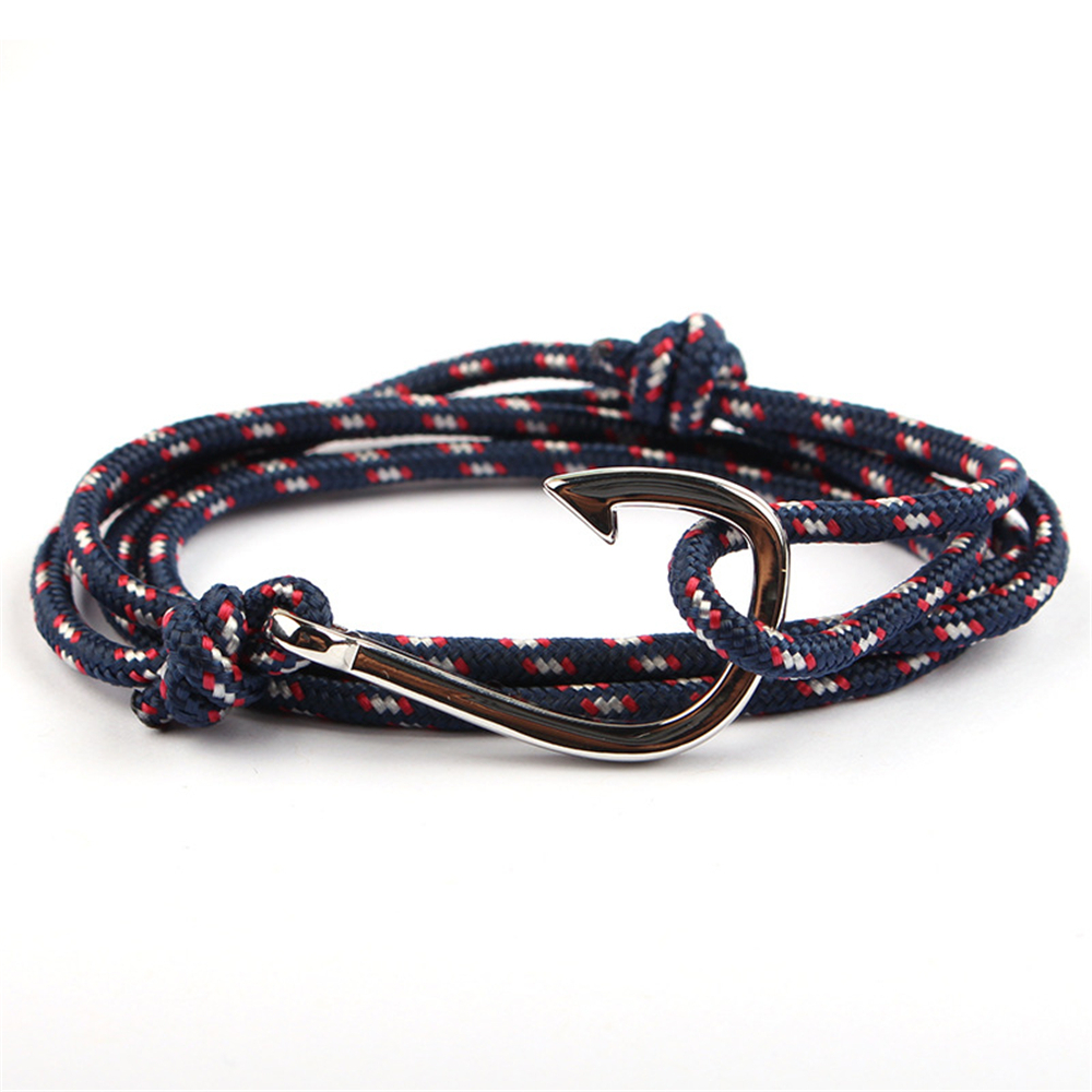 Multilayer Rope Chain Pulseras Hombre