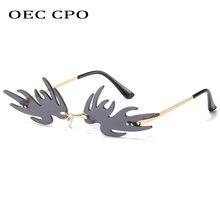 Солнцезащитные очки oec с защитой uv400 для мужчин и женщин