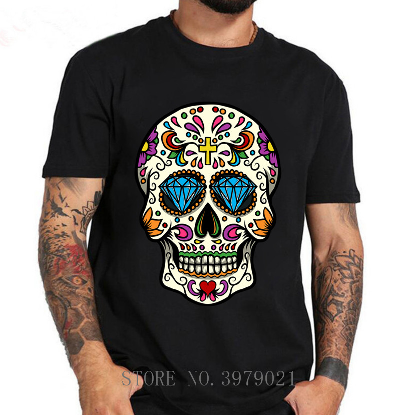 Kids Youth Cool Panda Skull Head Customized O-Neck T-Shirt Tee for Girls Black