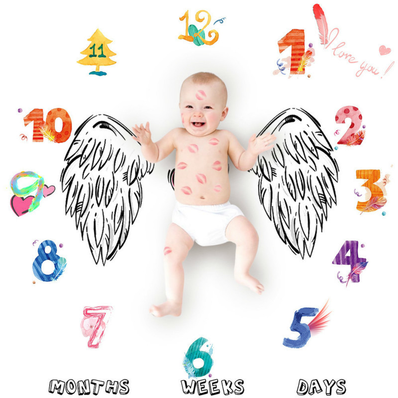 Clearance SaleBlanket Background-Cloth Swaddle-Wrap Receiving Photography-Props Newborn Baby for 0-12M