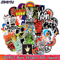 100 шт. рок-Наклейки Музыка Ретро группа граффити JDM наклейка