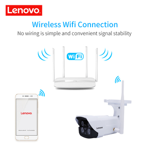 Image 3 - LENOVO Outdoor Waterproof IP 1080P Camera Wifi Wireless Surveillance Camera Built in 32G Memory Card CCTV Camera Night Vision