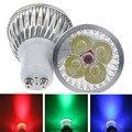 При заказе 1- 10 штук GU 10 Светодиодный точечный светильник с регулируемой яркостью, GU10 светодиодный светильник 3 Вт, 9 Вт, 12 Вт, 15 Вт, 110V 220V красны...